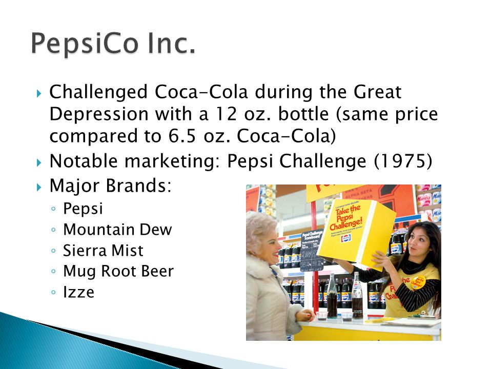  Challenged Coca-Cola during the Great Depression with a 12 oz.