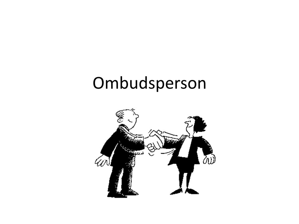 Ombudsperson