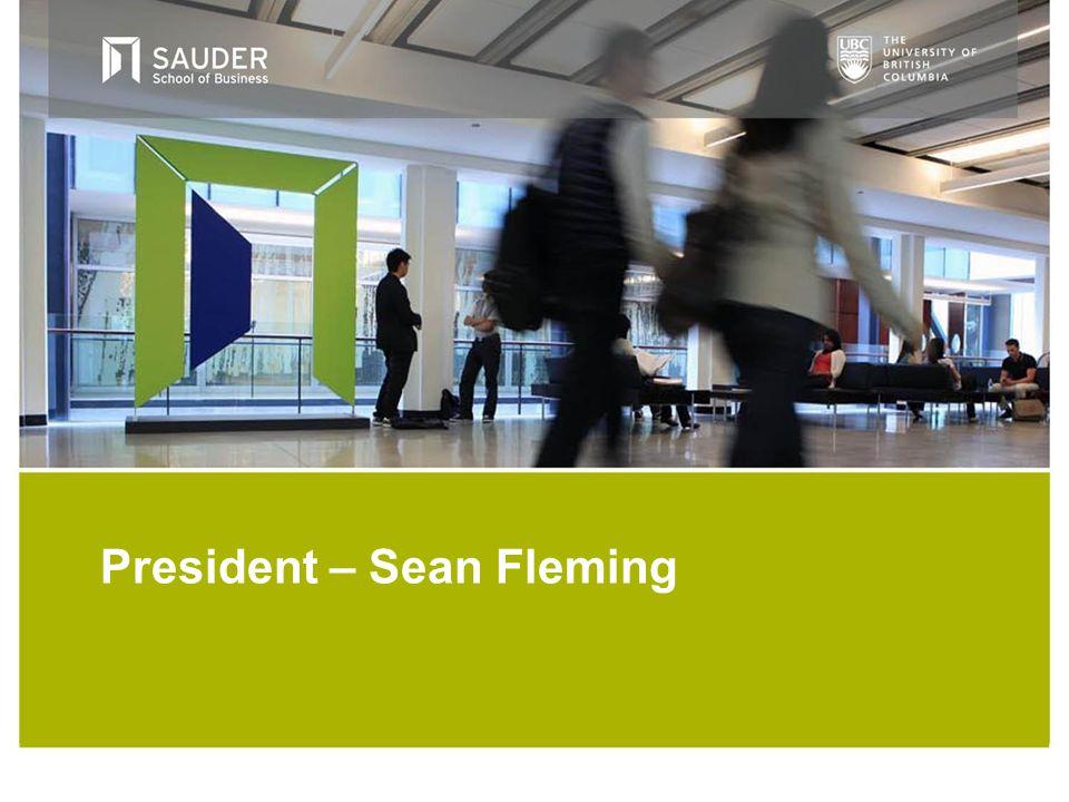 President – Sean Fleming