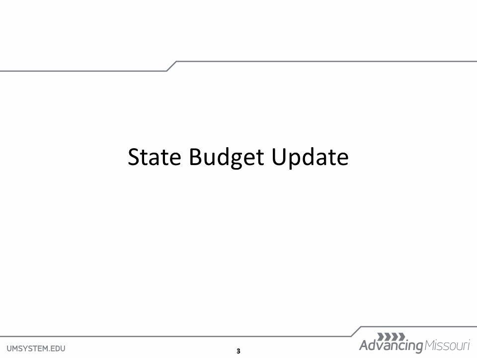 3 State Budget Update
