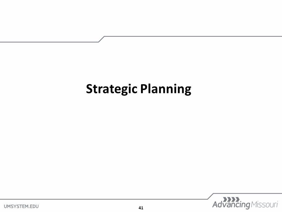 41 Strategic Planning