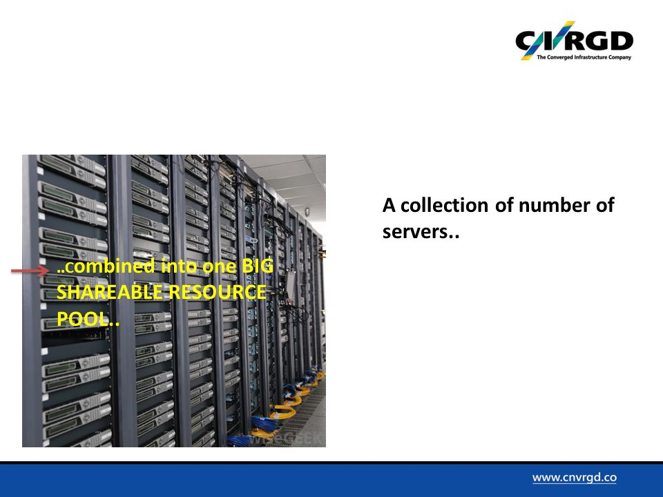 ..C ombined into one BIG SHAREABLE RESOURCE POOL..