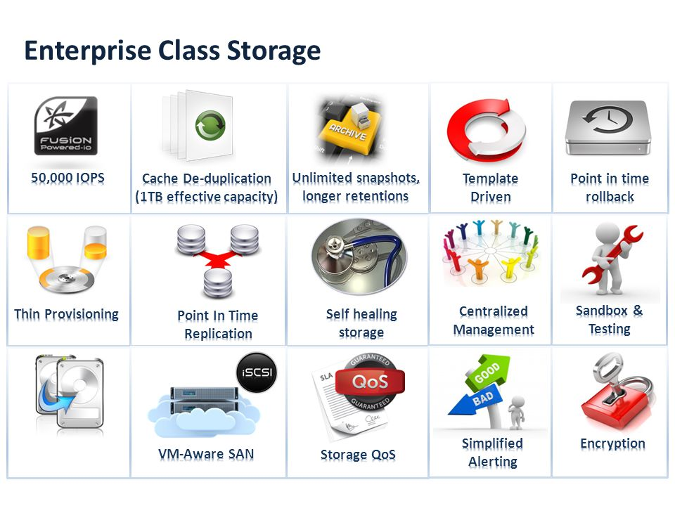 Enterprise Class Storage