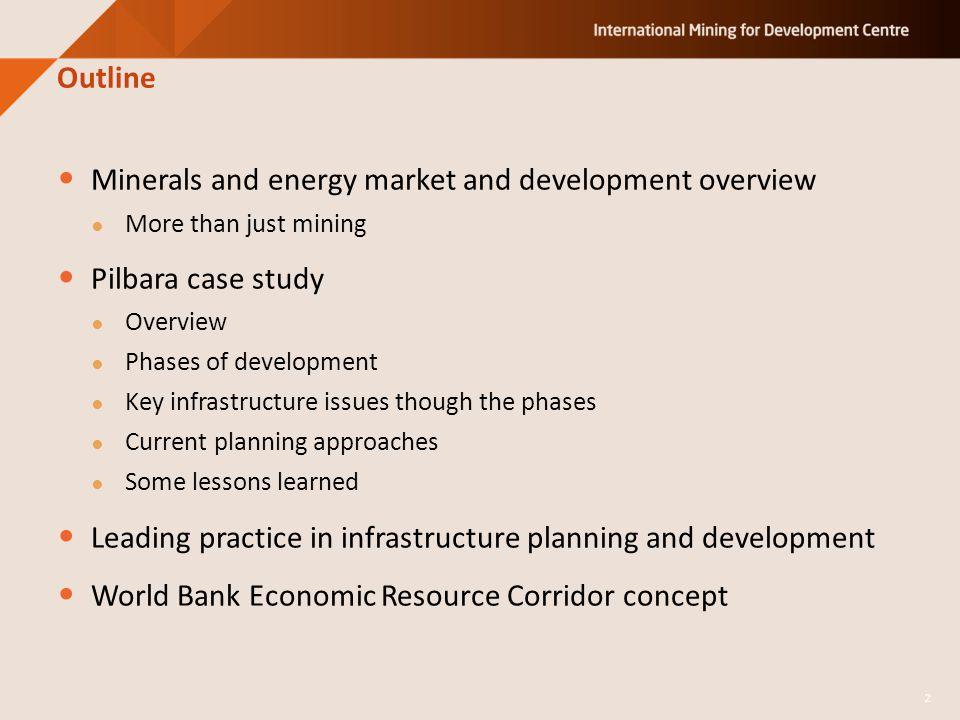 Karratha growth plan – ensuring infrastructure for service industry 23 Industrial estates