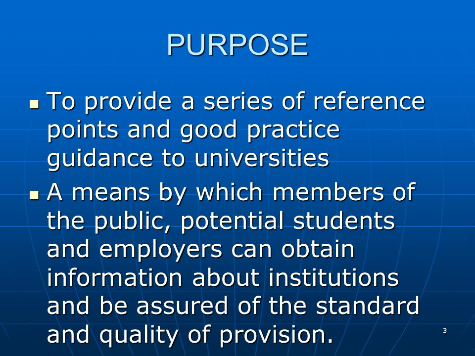 4 CONSISTS OF Framework for Higher Education Qualifications (FHEQ) Framework for Higher Education Qualifications (FHEQ) Subject benchmark statements Subject benchmark statements Programme Specifications Programme Specifications Code of Practice Code of Practice Progress files Progress files