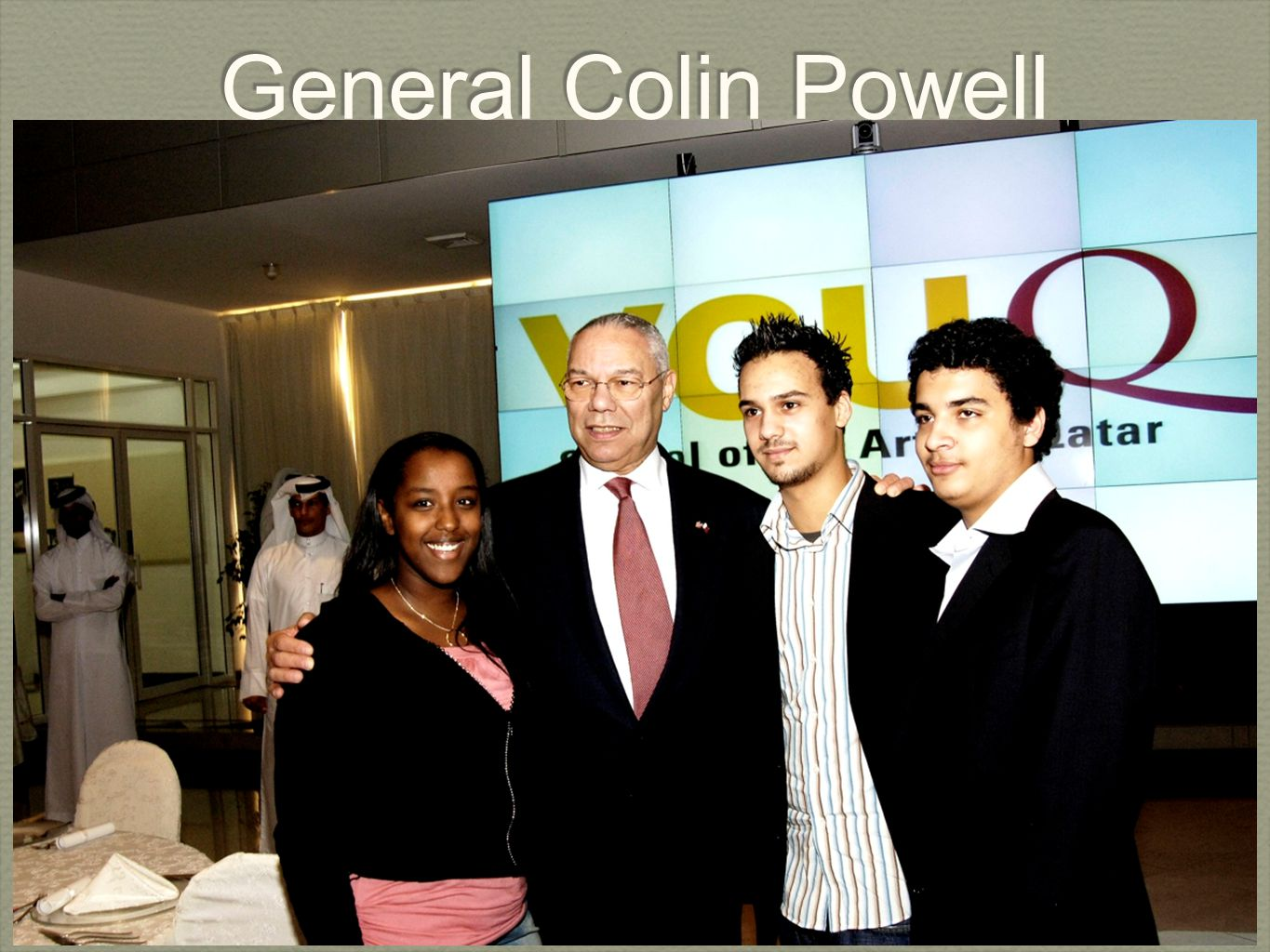 Virginia Commonwealth University in Qatar General Colin Powell
