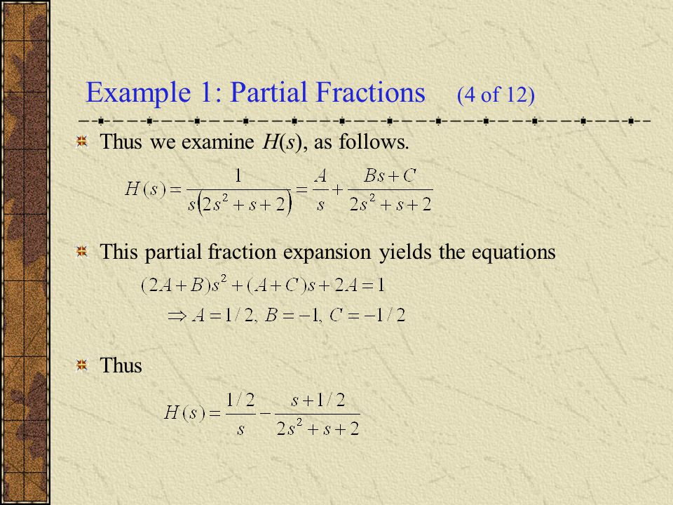 Completing the square, Example 1: Completing the Square (5 of 12)