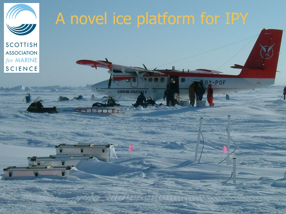 DBCP Workshop, Buenos Aires, October 2005 Background Role of sea ice in climate change Several polar deployments over last few years Use of Iridium and Argos Opportunities during IPY 2007-8 Development of new platform for flux and hydrographic measurements