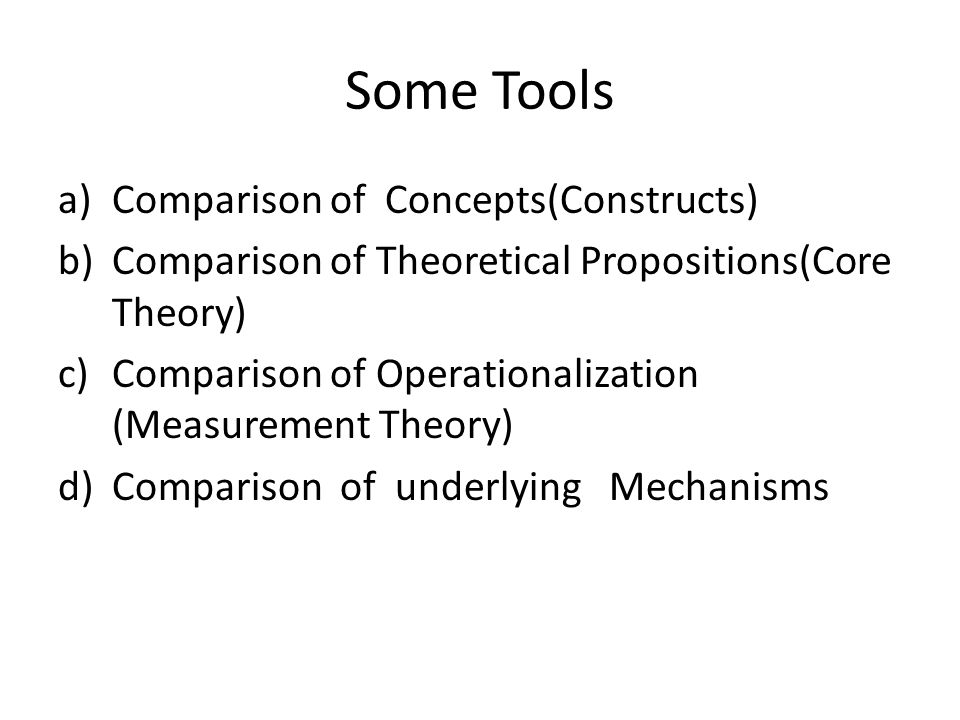 7 Structural Model and Measurement Model What are the causal relationships among the theoretical (latent) variables and those between latent and observed variables(items).