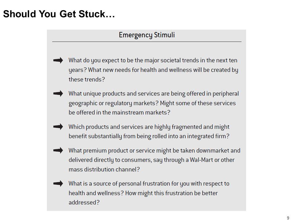 9 Should You Get Stuck…