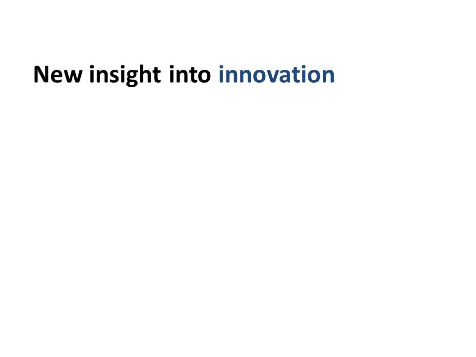 New insight into innovationinovation using matched UK data