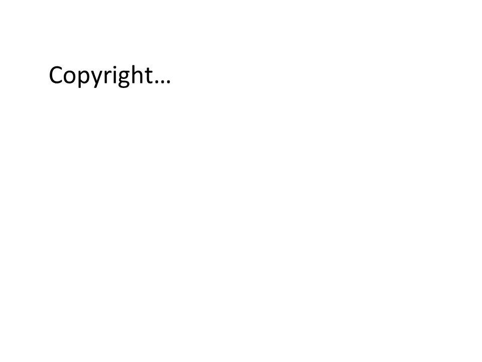 Copyright…
