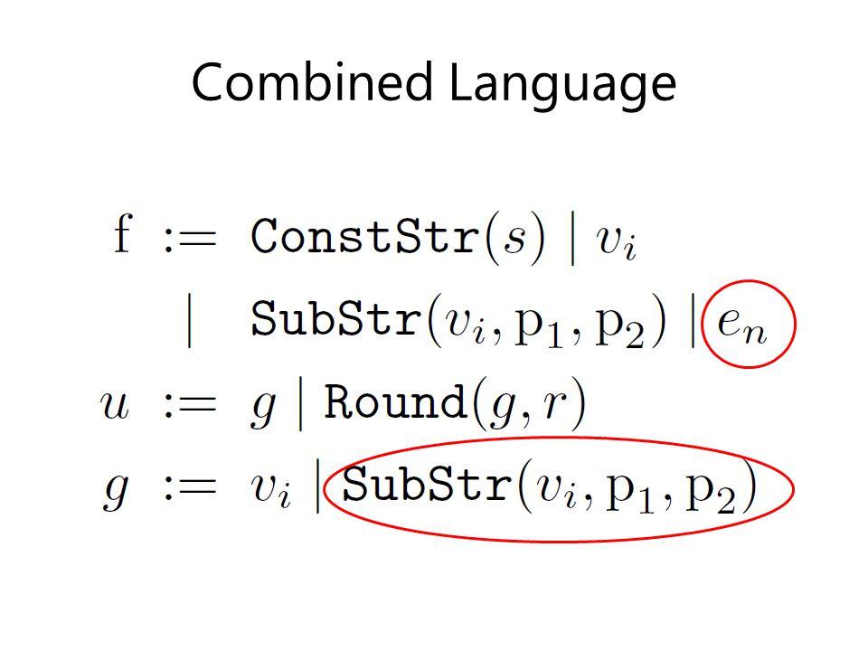 Combined Language