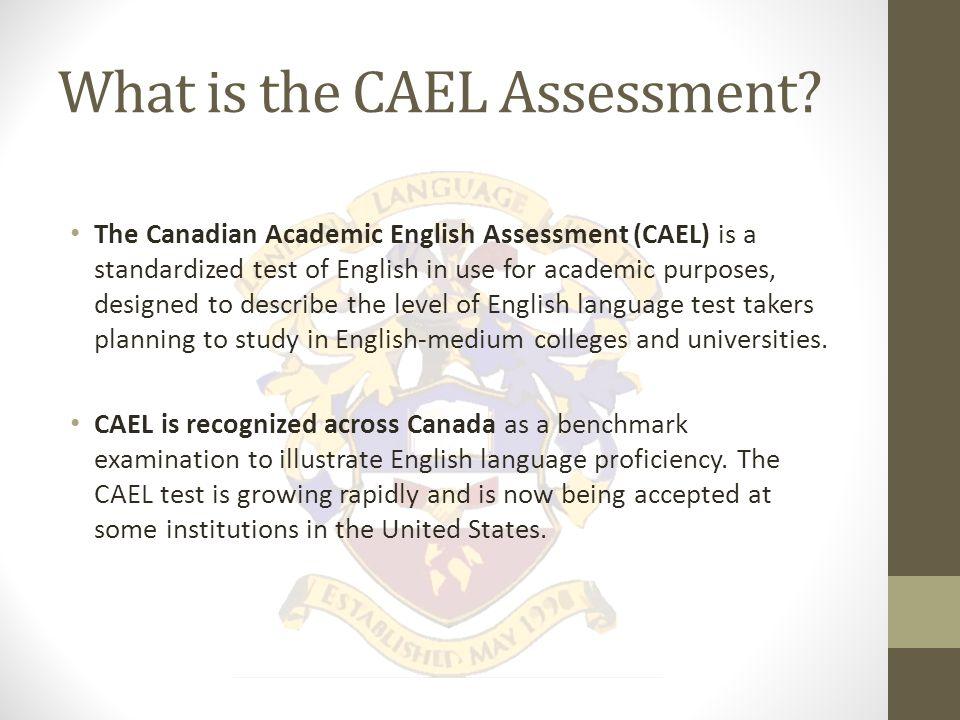 CAEL Testing and Preparation