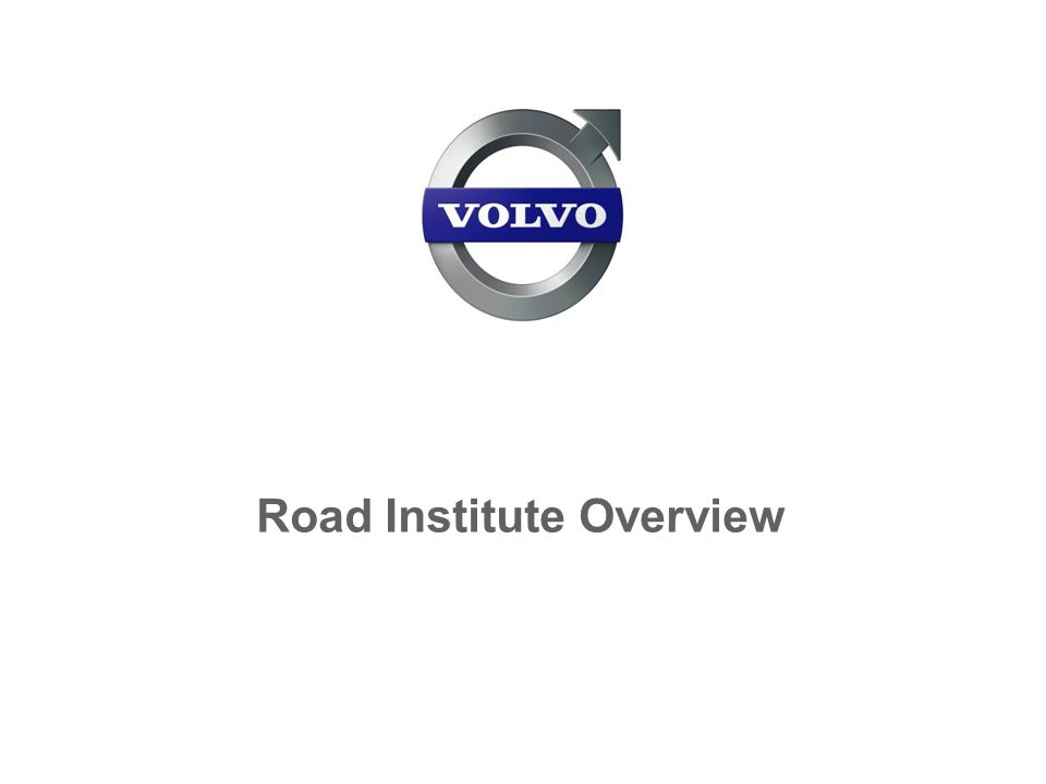 Road Institute Overview