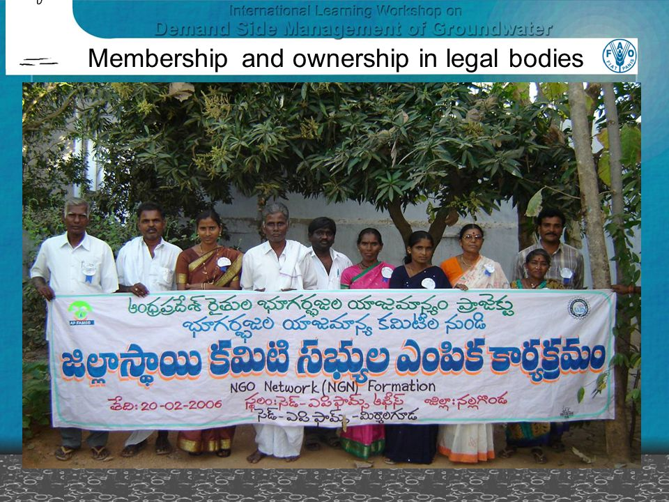 Membership and ownership in legal bodies