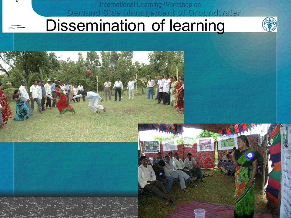Dissemination of learning