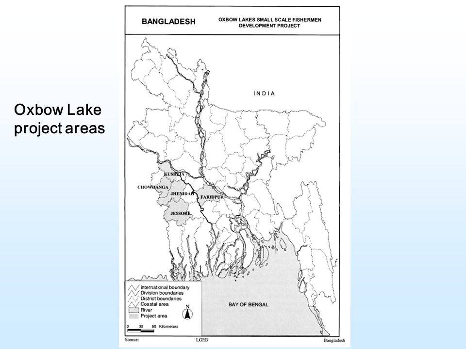 Oxbow Lake project areas