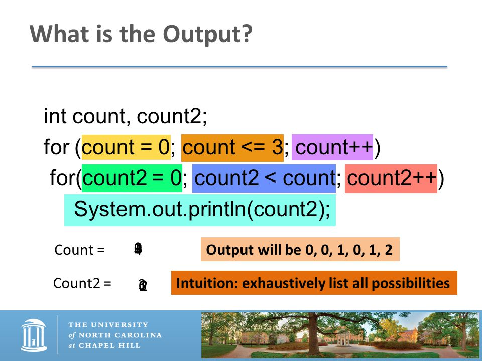 What is the Output.