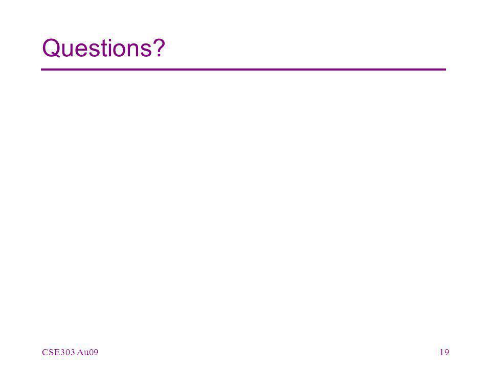 Questions CSE303 Au0919