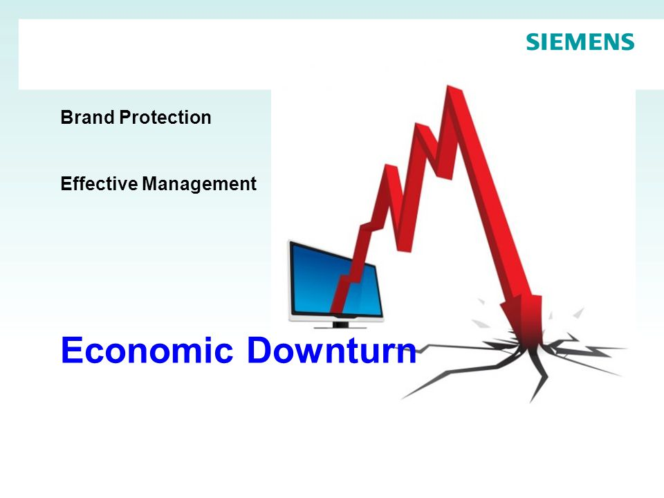 Brand Protection Effective Management Economic Downturn