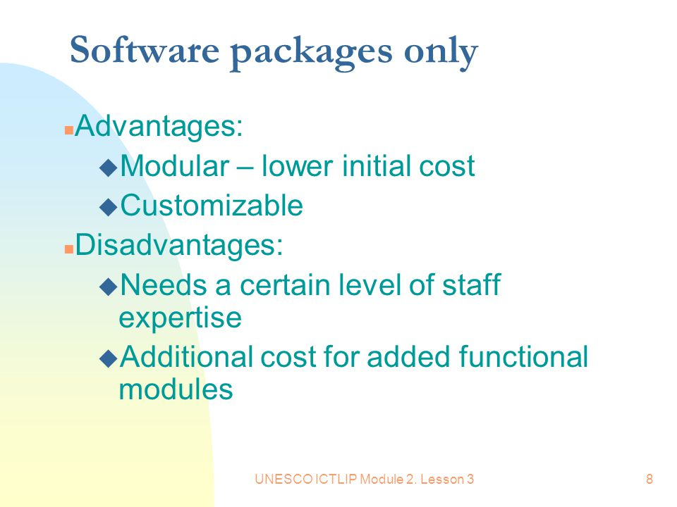 UNESCO ICTLIP Module 2.