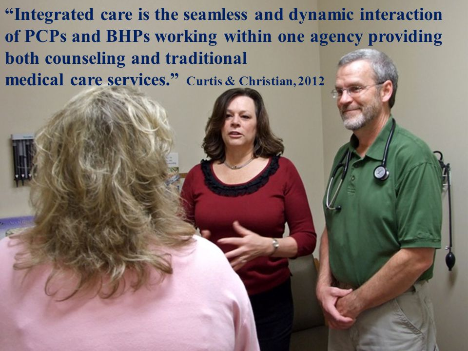 1. Integrated Care Defined