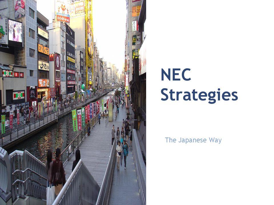 NEC Strategies The Japanese Way