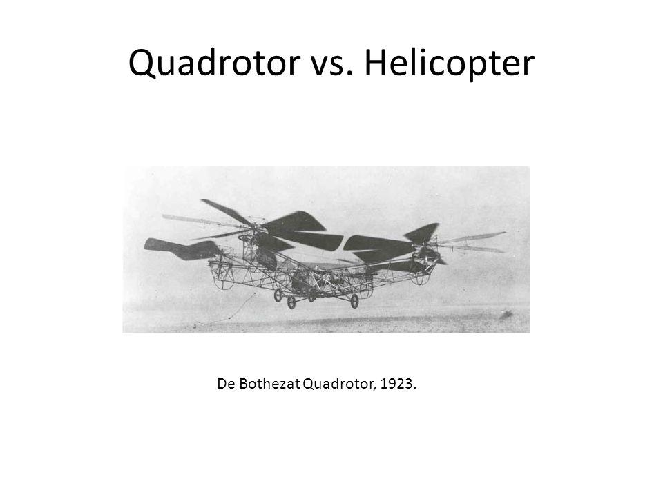 De Bothezat Quadrotor, 1923.