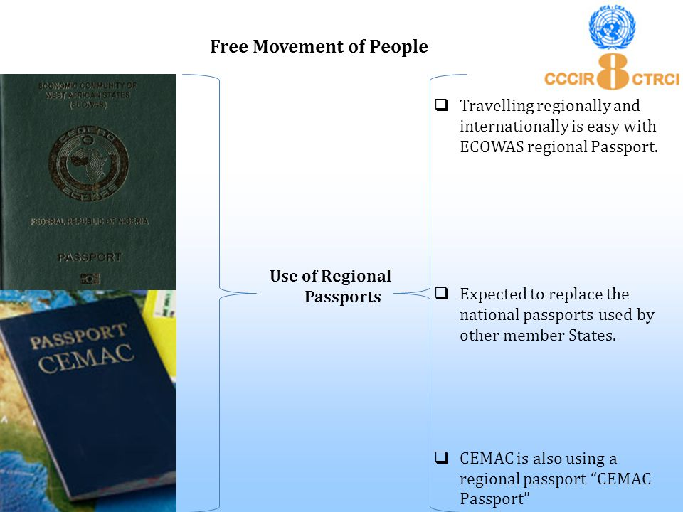  Travelling regionally and internationally is easy with ECOWAS regional Passport.  Expected to replace the national passports used by other member S