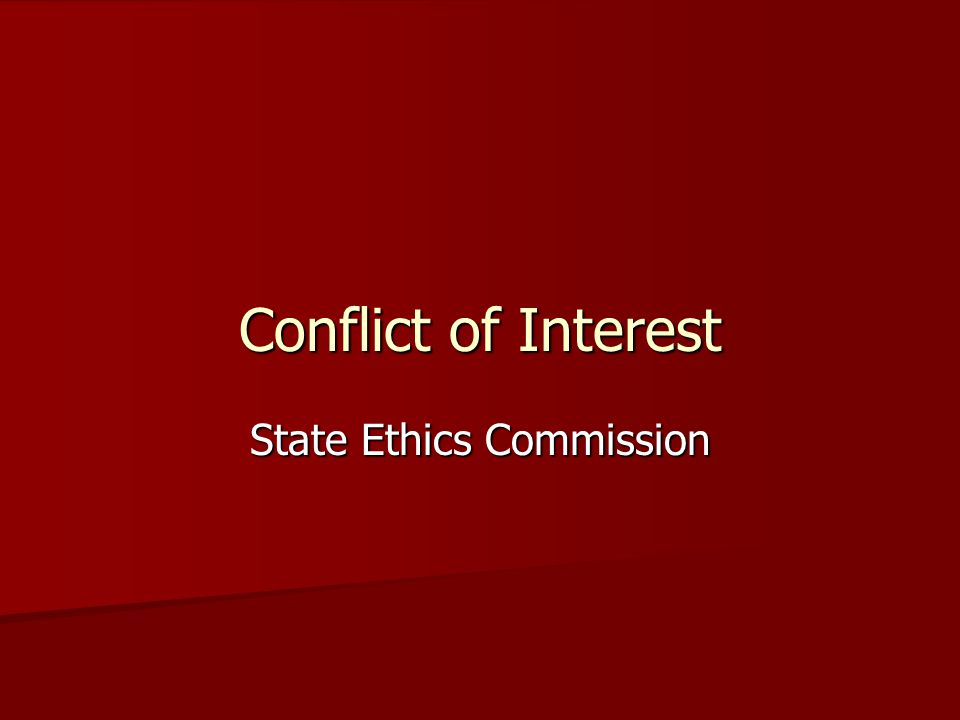 Failure to Recognize Conflict of Interest and Act Upon It May Become Felonious The courts have interpreted honest services to include honest and impartial government, and a general duty on the government official to act out of loyalty, honesty, independence, impartiality, and integrity.