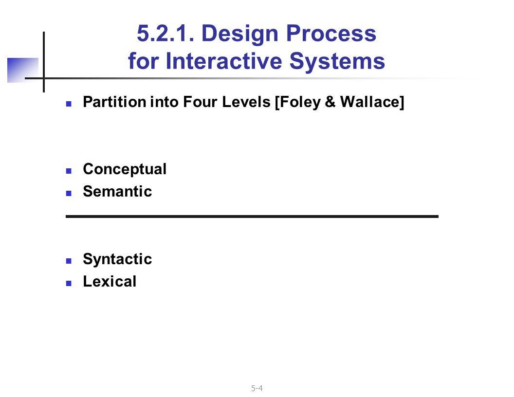 5-15 Toolkits (cont d) Examples Visual Studio (Windows) Interface Builder (Macintosh) GTK (X/Unix/Linux) Based on controls or widgets (N.B.