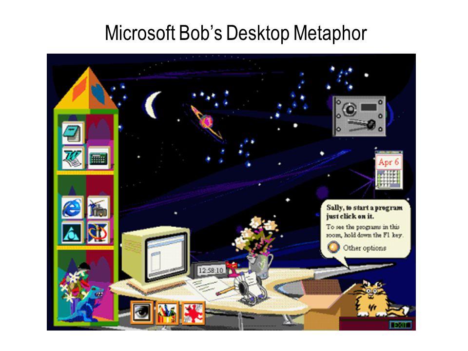 Microsoft Bob's Desktop Metaphor
