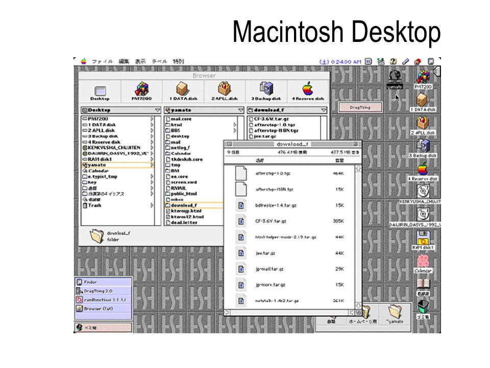 Macintosh Desktop