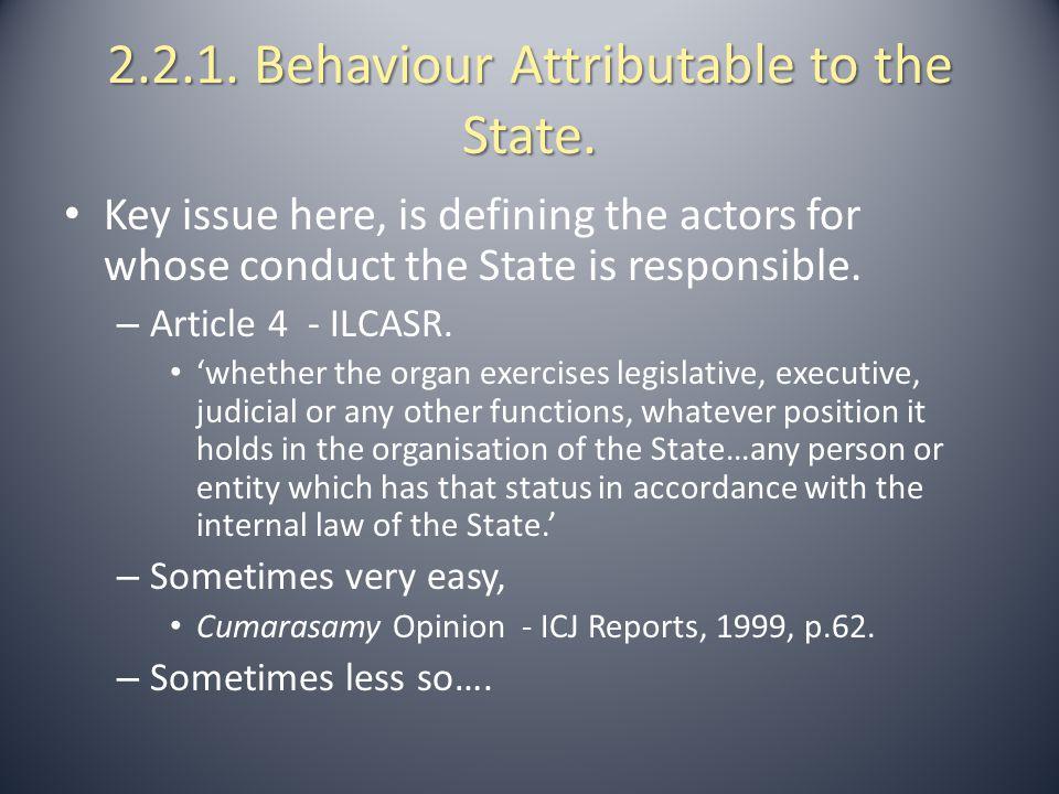 2.2.2.Authorities on Attribution 2.2.2. Authorities on Attribution.