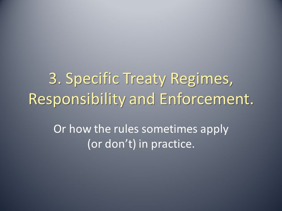 3.1.Some General Legal Methods for Dealing With Non-Compliance.