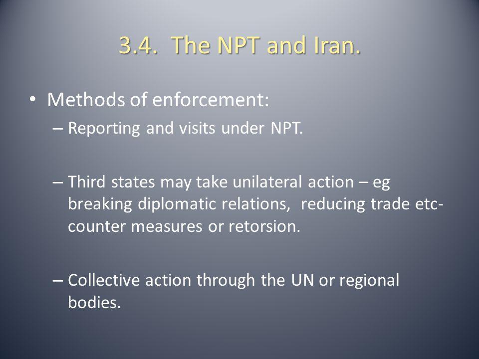 3.5.Collective Action Through the UN So Far. 1.UN Charter, Chapter VII – Article 39 – 51.
