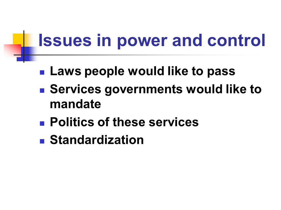 Questions before the house How will the standards process be timely and effective for all concerned.