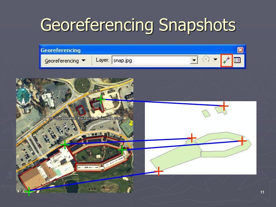 11 Georeferencing Snapshots