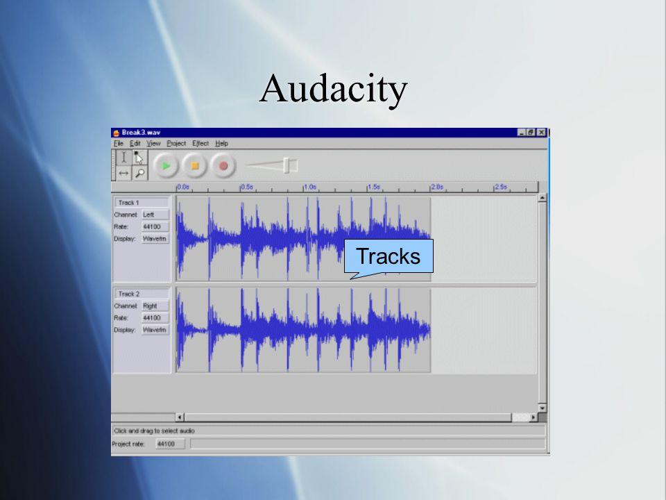 Audacity Tracks