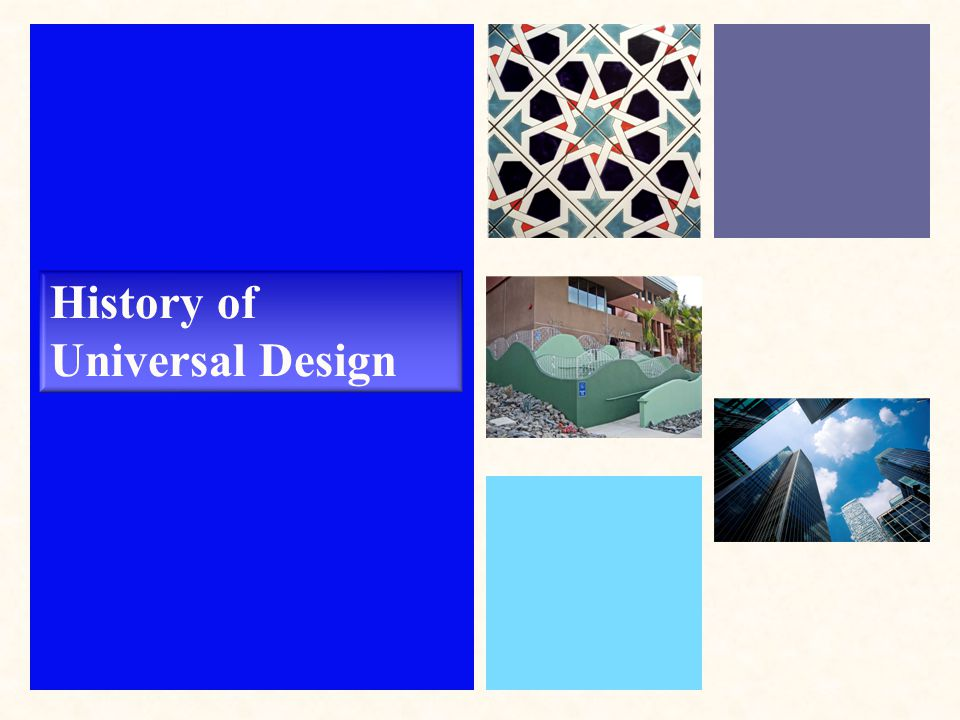 History of Universal Design