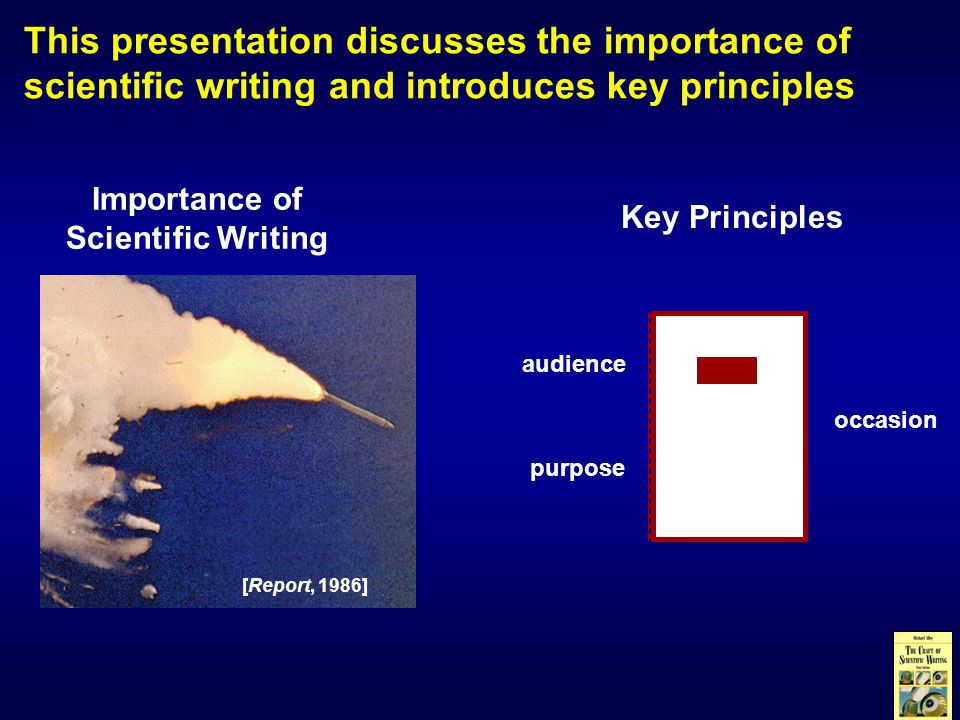 An excellent way to improve your writing is to choose good models Maria Goeppert Mayer AIP Linus Pauling Cal-Tech