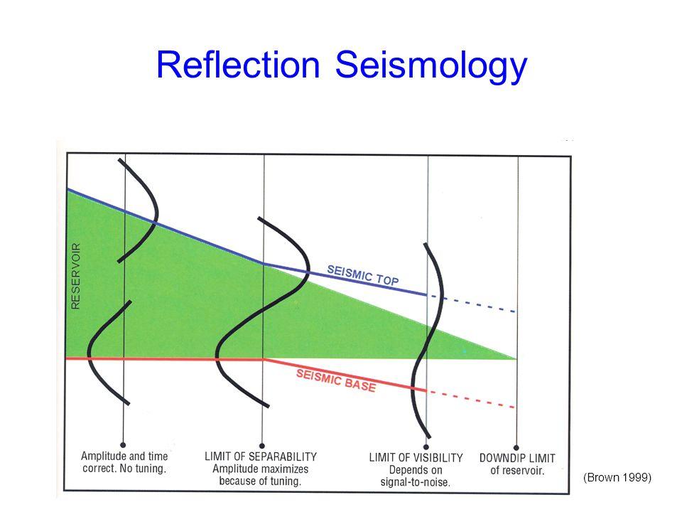 Reflection Seismology (Brown 1999)