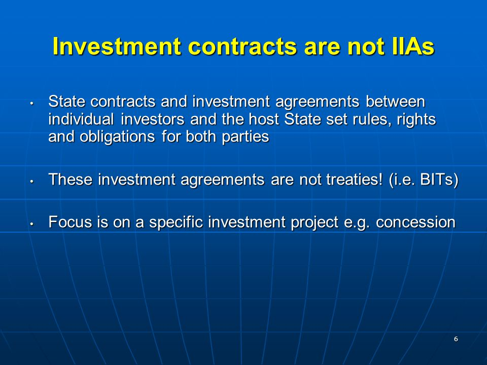 7 Recent trends in IIAs - highlights Rapid proliferation at all levelsRapid proliferation at all levels International investment rules are increasingly being formulated as part of agreements that encompass a broader range of issues (FTAs)International investment rules are increasingly being formulated as part of agreements that encompass a broader range of issues (FTAs) Investment provisions in the new agreements tend to be increasingly sophisticated and complex in contentInvestment provisions in the new agreements tend to be increasingly sophisticated and complex in content South-South cooperation on international investment policy is intensifyingSouth-South cooperation on international investment policy is intensifying Increasing activity in international investment treaty- making has been paralleled by a rise in investor-State disputes.Increasing activity in international investment treaty- making has been paralleled by a rise in investor-State disputes.