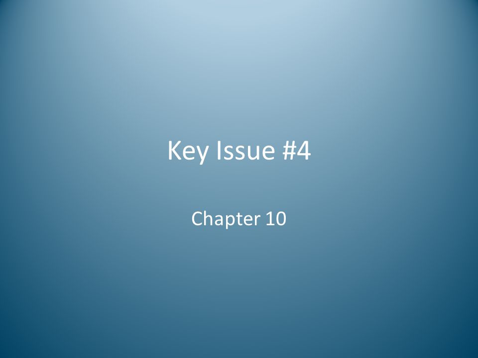Key Issue #4 Chapter 10
