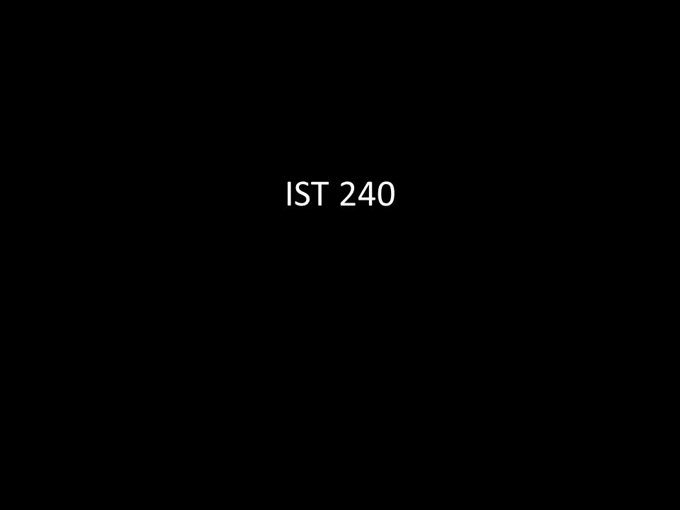 IST 240