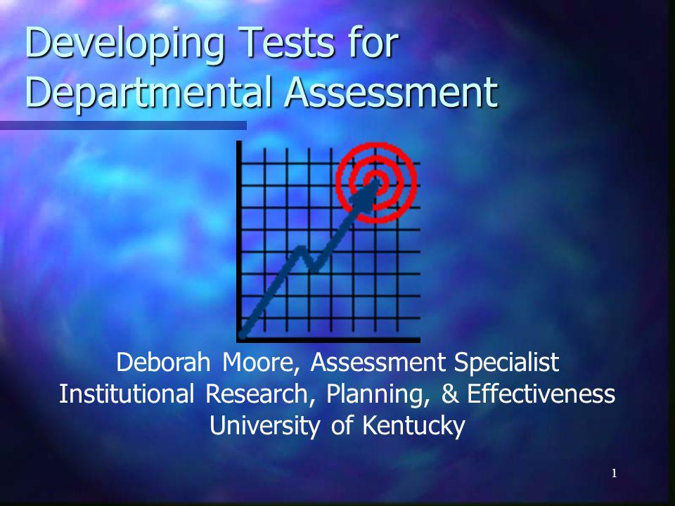 12 Test Blueprint (Content X Objective)