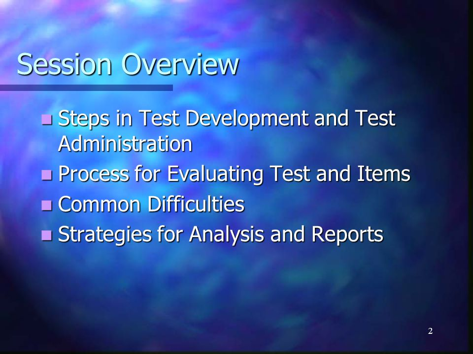 23 Testing in the Future Computer based testing Computer based testing Adaptive (CAT) Adaptive (CAT) Self-Adaptive (SAT) Self-Adaptive (SAT) Computer assisted item generation Computer assisted item generation Automated essay scoring Automated essay scoring