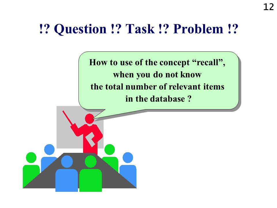 12 !.Question !. Task !. Problem !.