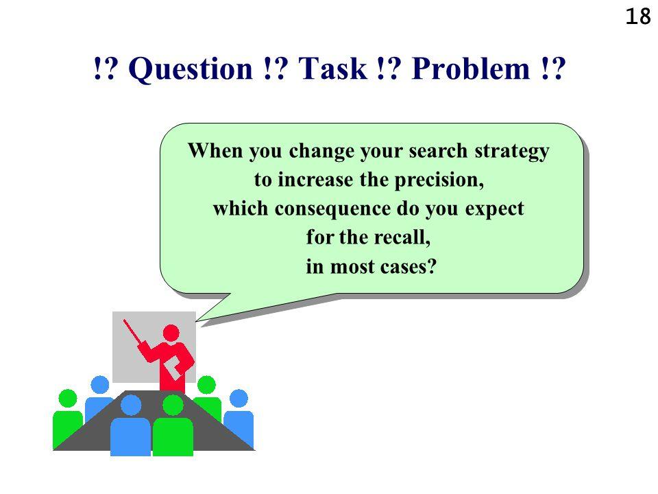 18 !.Question !. Task !. Problem !.